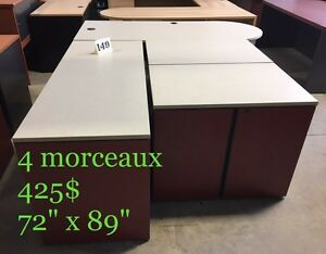 "Mobilier de bureau en ""L"" / Office furniture"