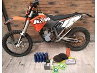KTM 280 EXC-F 2011 Enduro motocross bike