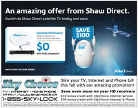 ShawDirect & SkyChoice, Brantford's best value for TV + Internet