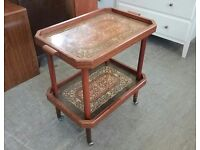 20% OFF ALL ITEMS SALE - Retro 50'S / 60'S Tea Trolley - Can Deliver For £19