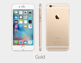 Apple iPhone 6s, 64gb, gold, supreme condition with warranty remaining