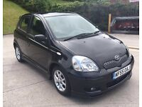 **TOYOTA YARIS COLOUR COLLECTION VVT-I 1.3 PETROL 5DR BLACK (2005 YEAR)**