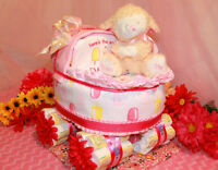 Custom Diaper Cake Creations And Tutus Now Available!