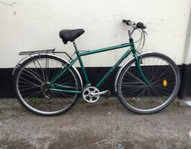 "GENTS RALEIGH HYBRID BIKE 18"" FRAME £65"