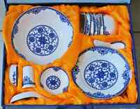 28pcs Chinese Oriental Dining Ware Set  BRAND NEW