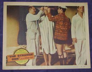 ORIGINAL GAY CLASSIC THE STRANGE ONE 1957 BEN GAZZARA