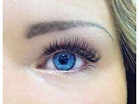 EYELASH EXTENSIONS Individual eyelashes
