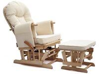 Sereno Nursing Chair (glider rocking chair)
