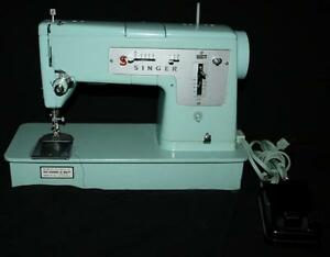 Singer Model 348 Sewing Machine & Foot Pedal