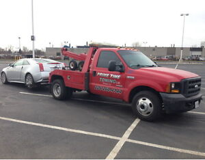 Tow Truck, Wrecker Operator    Prime Time Towing Ltd. Windsor Region Ontario image 3