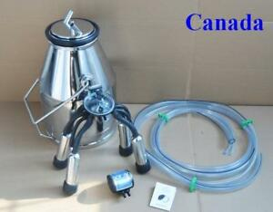 Portable Cow Milker Bucket Tank for Milking Machine 170672