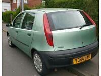 Fiat Punto 1.2 Genuine 75k miles 4 months Mot, low insurance group ( group 7 ) cheap running costs