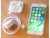 iPhone 6 - 128gb. White/silver. 02 network