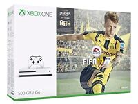 Xbox One S 500gb with Fifa 2017 (BNIB)