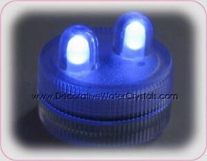 Blue Water Submersible / Proof Battery Operated LED Tea Lights Mount Waverley Monash Area Preview