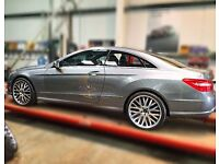 "Khan 20"" Mercedes alloys and tyres"