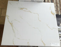 LIMITED TIME DEAL - 24x24 Polished Porcelain Tile - Calacatta