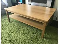 Large IKEA coffee table