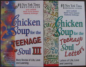 2 Teenage Chicken Soup Books