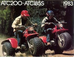 Used 1983 Honda atc185s