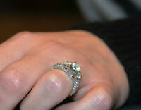 Engagement ring for trade.