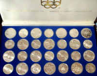 1976 montreal olympics silver coin set