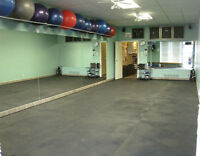 RENTAL SPACE FOR PERSONAL TRAINERS