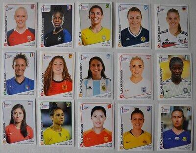 Panini Frauen WM 2019 France 50 Sticker aussuchen NEU