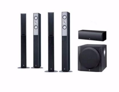 yamaha 5.1 speakers and sub