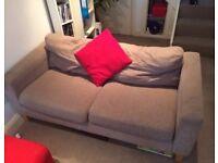 Modern compact sofa needs a home asap