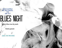 Blues night at the Unik - Thursdays