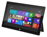 MICROSOFT SURFACE 32GB SSD/ WIN 8 AND MANY MORE TABLETS