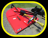 5' & 6' Rotary Cutters (bush hog) mower, NEW & ON SALE NOW