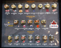 Molson Canadian Commemorative Stanley Cup Rings - Full Set!!