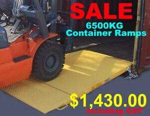 NEW 6500kg forklift container entry ramps Malaga Swan Area Preview