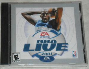 NBA Live 2001 EA Sports PC Game