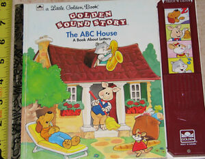 The ABC House Golden Book with Sound London Ontario image 1