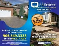 Complete Concrete . Driveways, Patios and more..