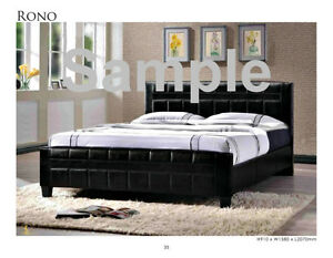 LEATHER LOOK BED FRAMES AND MORE FOR $149 and MORE