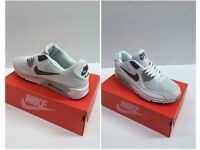 Nike Air Max Trainers White/Grey