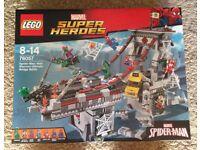 Lego Superheroes Spiderman Bridge Battle New