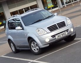 *NEW SHAPE* Rexton II 2.7 SX AWD same as Mercedes ML270 M Class 4x4 volvo xc90 land rover