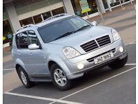 *NEW SHAPE* Rexton II 2.7 SX AWD same as Mercedes ML270 M Class 4x4 volvo xc90 land rover