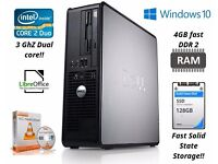 3Ghz Dual Core Desktop PC (refurbished Dell)