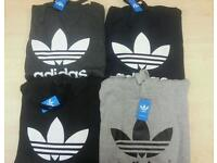 Adidas hoodies. All sizes.
