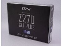 MSI Z270 Sli Plus - in box