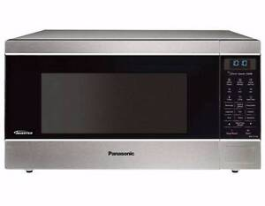 Stunning Panasonic Inverter Chrome Microwave Cremorne North Sydney Area Preview