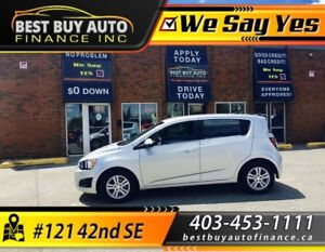 2013 Chevrolet Sonic 5dr HB LT Auto, only $89 BI-WEEKLY PAYMENTS