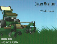 Grass Masters Lawn care