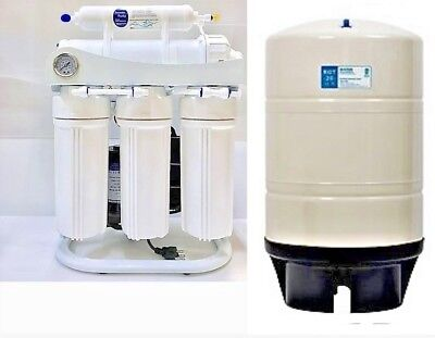 RO Light Commercial Reverse Osmosis Water Filter System 400 GPD ROT-20 G RO TANK